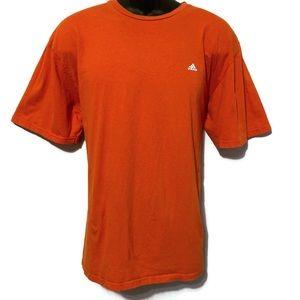 Adidas Men's Orange Short Sleeve To-Go Tee